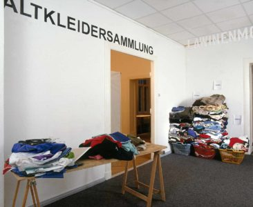 Kati Gausmann: Old clothes collection