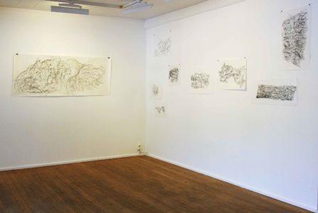 Kati Gausmann: works from the series 'mountain print'