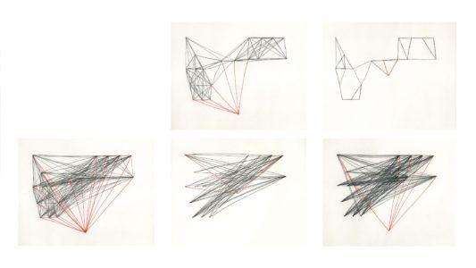 Kati Gausmann: .T., series of 5