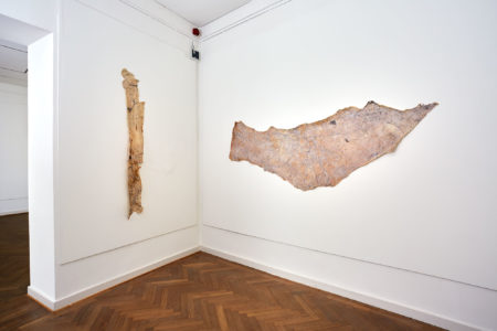 Kati Gausmann: 'mountain print (16/23/00)' und 'mountain print (16/06/00)'