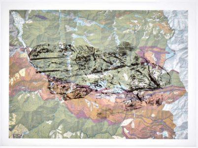 Kati Gausmann: mountain print /17/30/05)